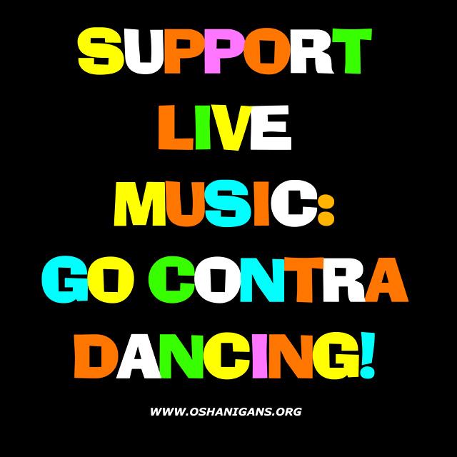 Support Live Music: Go Contra Dancing!